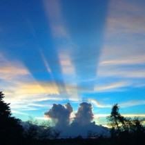 Cloud Shadows & Crepuscular Rays