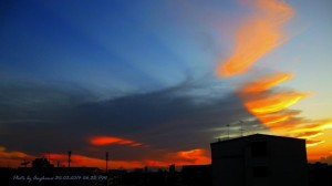 2014-03-30-Evening_Sky-บางจาก-พระโขนง-Angkana