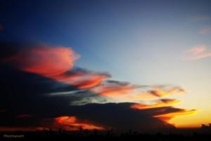 2014-03-30-Evening_Sky-ราชพฤกษ์-นนทบุรี-Phetchanart_Phet_Mitkitti